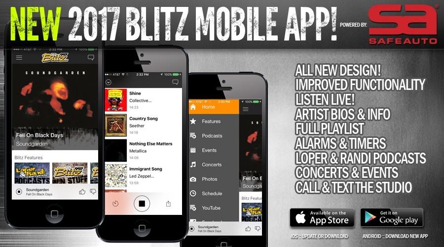 NEW 2017 Blitz Mobile App