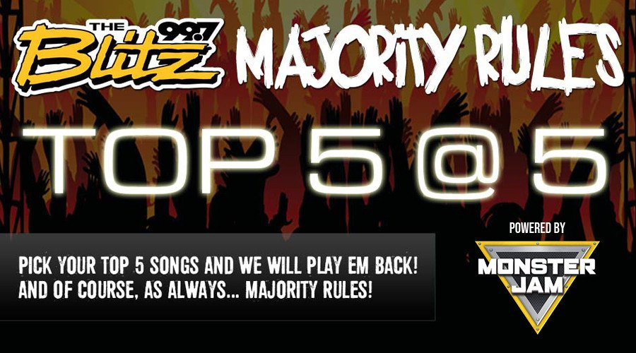 Majority Rules: Top 5 @ 5!
