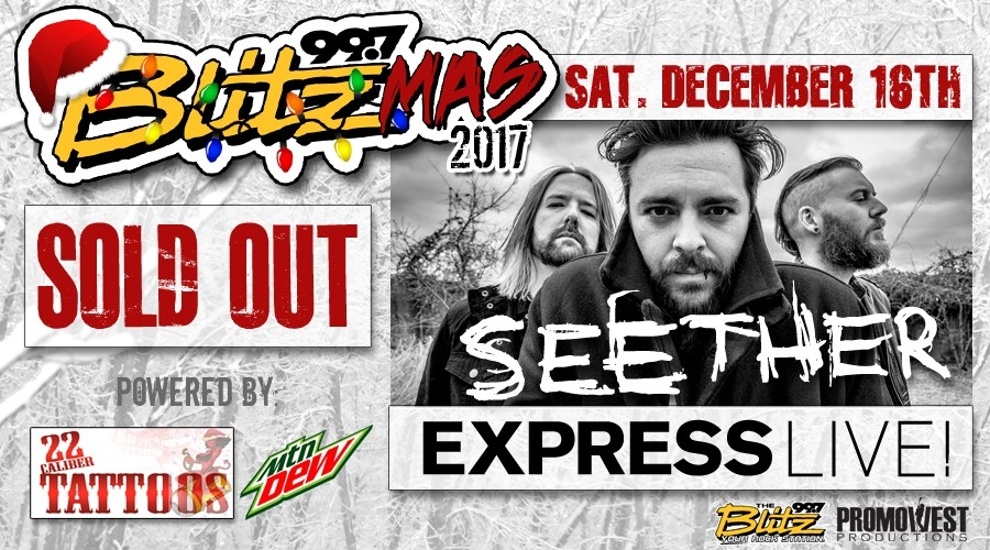 Blitzmas 2017 with Seether! [INTERVIEW]
