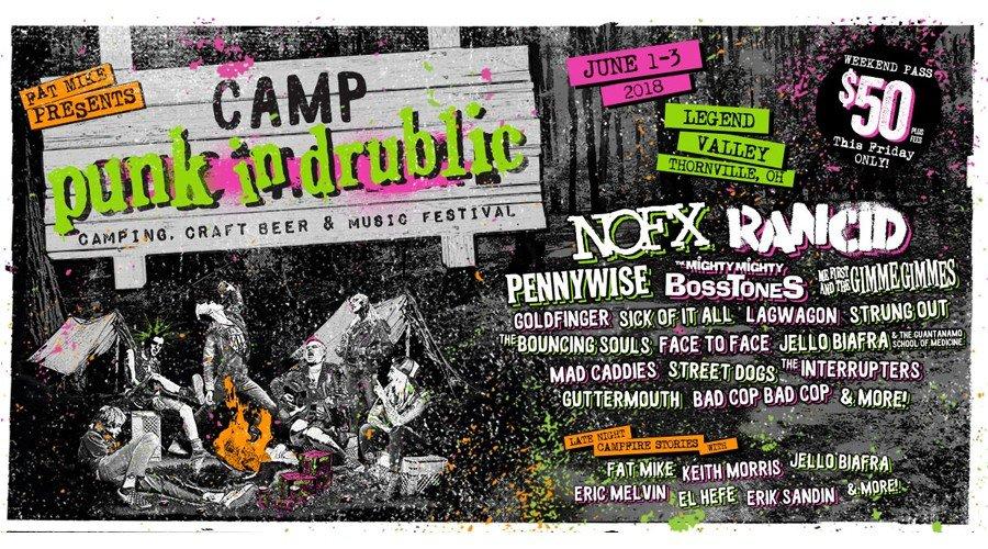 Win Camp Punk in Drublic Tix