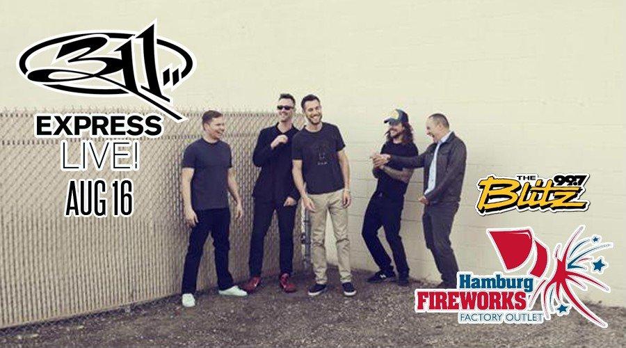 Win 311 Tix & Hamburg Fireworks