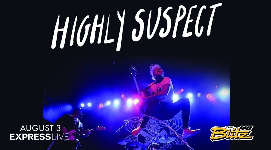Win Highly Suspect Tix