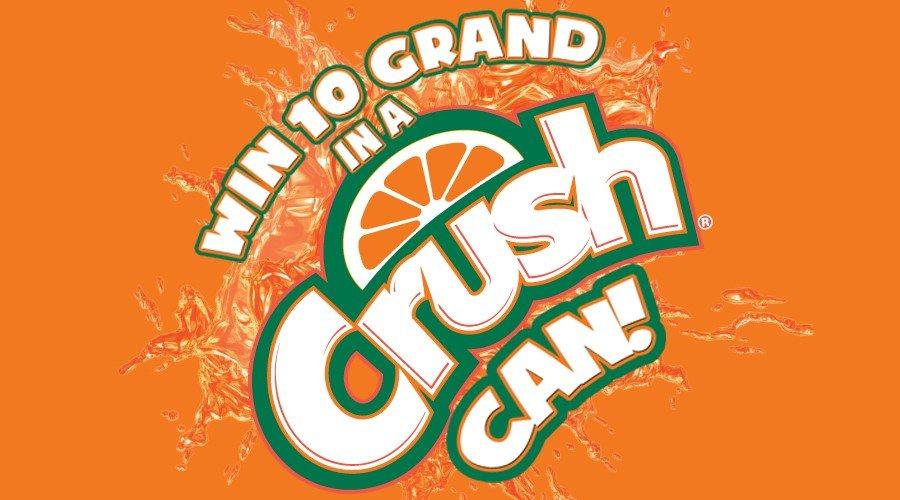 Win $10 Grand in a Crush Can