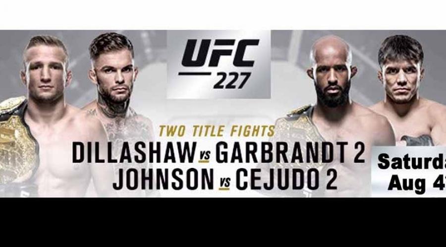 VIP UFC 227 Watch Party