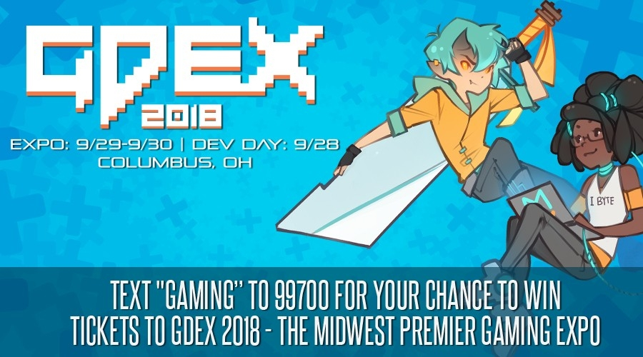 Win Passes to GDEX 2018!
