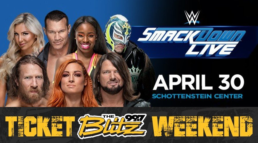 Win WWE Smackdown Tix