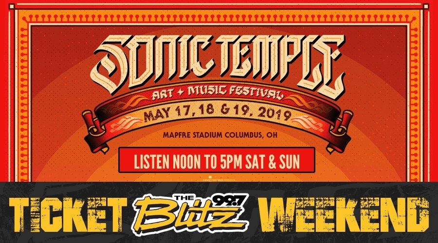 Sonic Temple Festival: Ticket Blitz Weekend