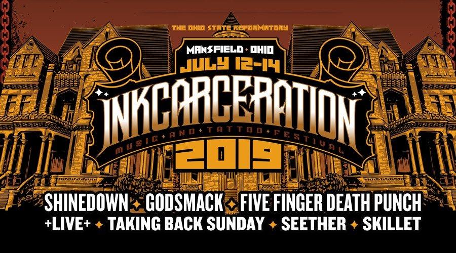 Inkcarceration 2019 Lineup