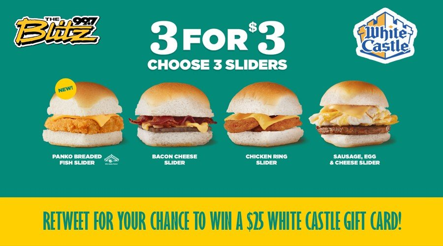 Win Free White Castle