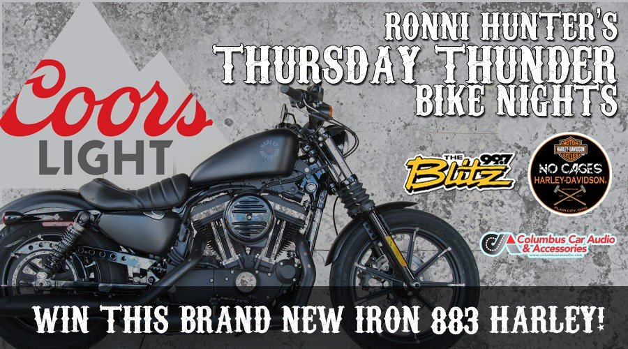 Win A Harley at Thursday Thunder Bike Nights with Ronni!