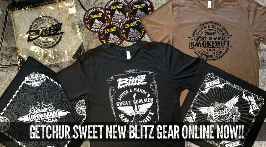 Getchur New Blitz Gear Online NOW!