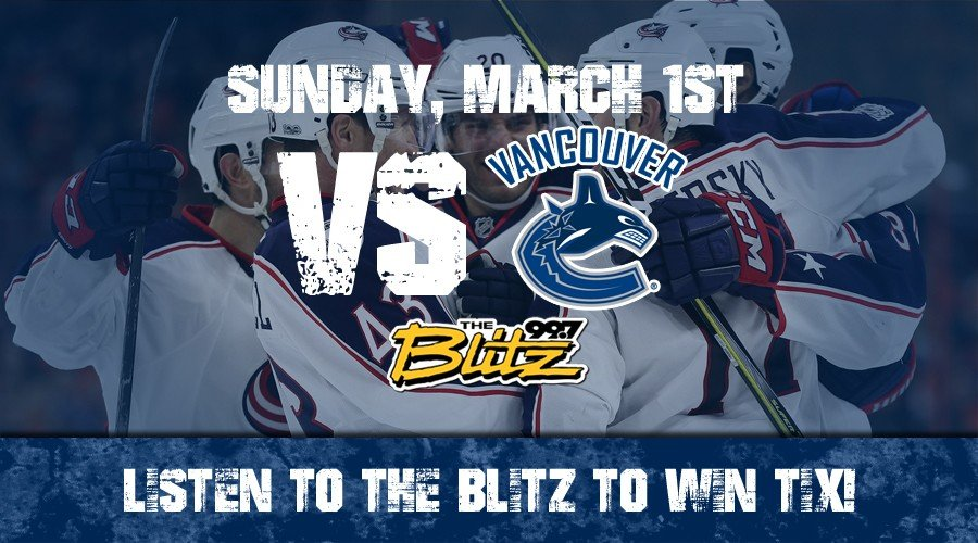 Win CBJ Tickets for Blitz Night!