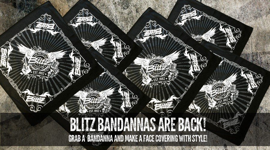 Blitz Bandannas are Back!