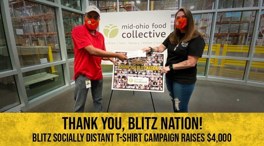 Over $4,000 Raised: The Blitz