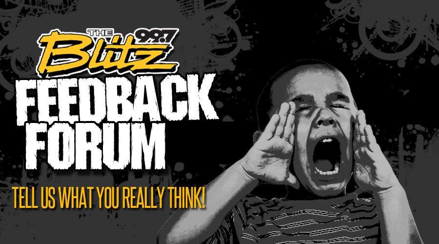 Blitz Feedback Forum!