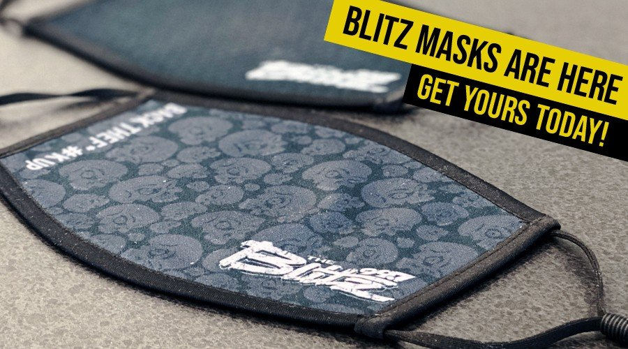 Official Blitz Face Masks Are Here!