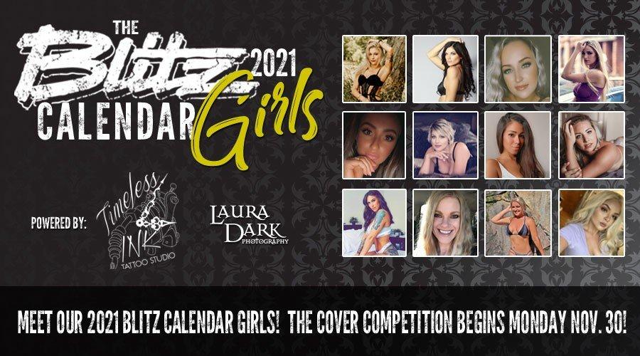 The Blitz 2021 Calendar Girls!