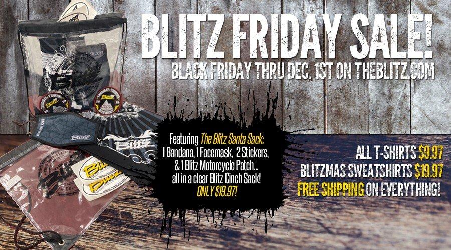 Blitz Friday Sale!