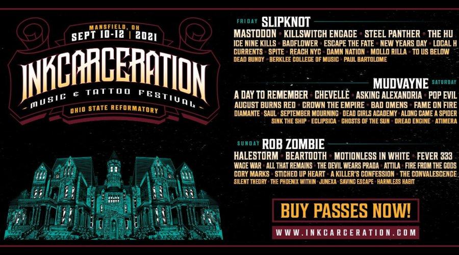 Inkcarceration Lineup Announced