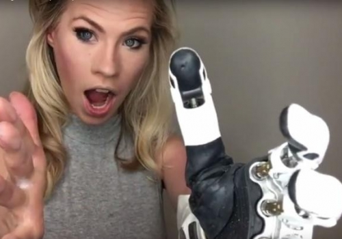 Her Bionic Arm Somehow Makes Her Hotter (Video)
