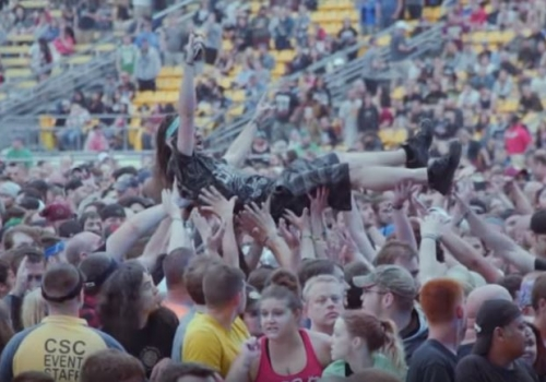 Rock On The Range Featured in New Of Mice & Men Documentary