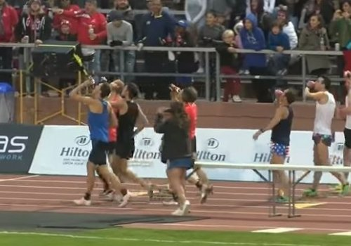 New Beer Mile World Record (Video)