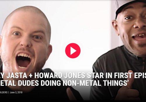 Video: Metal Dudes Doing Non-Metal Things