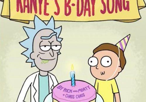 Kanye's Birthday Card