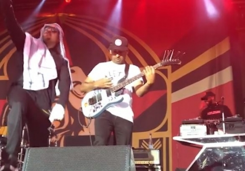 Prophets of Rage invites Fan on stage to play