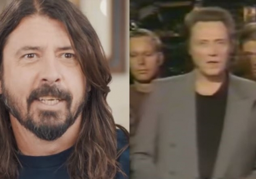 Dave Grohl's Christopher Walken Impression Vs. What Actually Aired