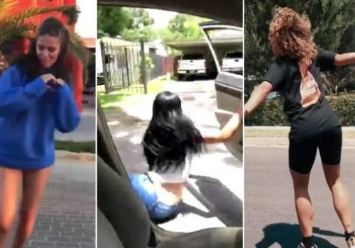 Woman Gets Her Purse Stolen During Kiki Challenge