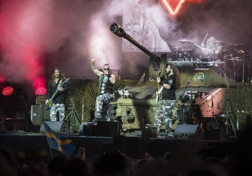 Today's Metal Shop Band: Sabaton (Live Video)