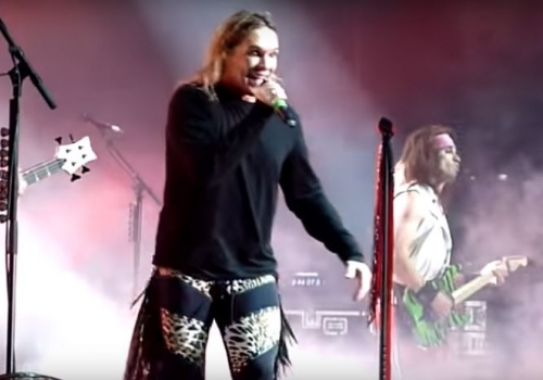 Steel Panther's Michael Starr as Ozzy is Spot On