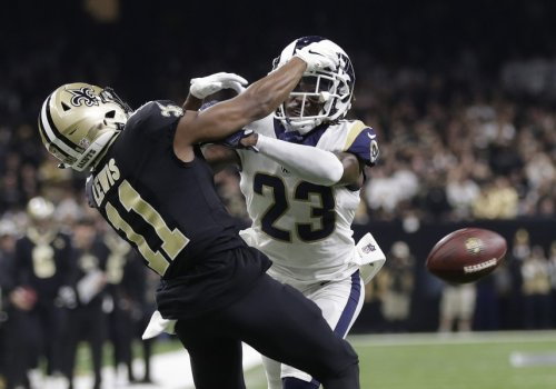 A No-Call Pass Interference Stuns Many as the Rams Head to the Super Bowl