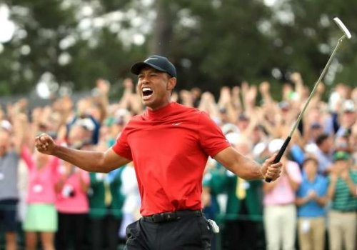 Tiger Woods Wins His Fifth Masters