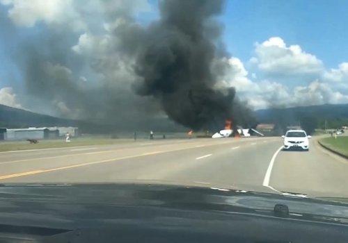 Dale Earnhardt Jr survives plane crash
