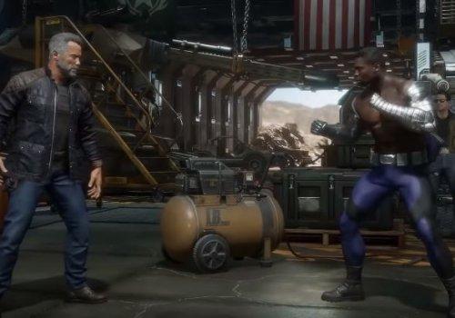 Here's what the Terminator looks like in Mortal Kombat 11
