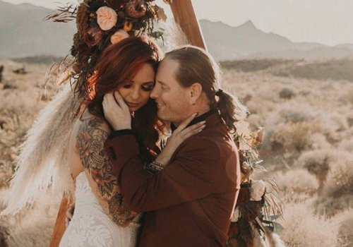 Corey Taylor Ties The Knot