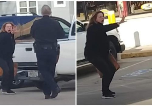 Woman Tries to Perform Exorcism on Cop, Gets Tased