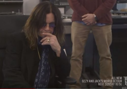 Ozzy Hears Unheard 'Crazy Train' Master Tape For The First Time