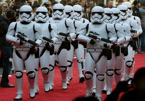 You can be a stormtrooper!