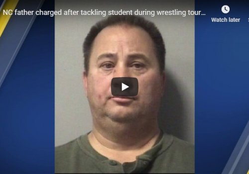 NC father assaults student at school wrestling match...Then gets what he deserves.