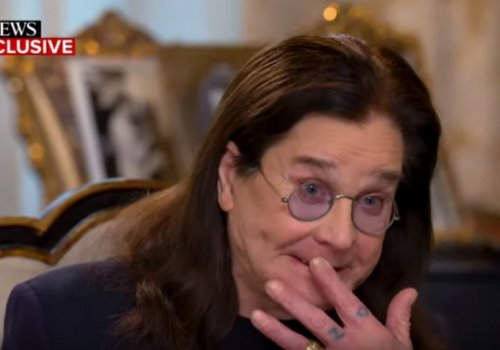 Ozzy Reveals He's Been Diagnosed With Parkinson's Disease and it's a Tearjerker