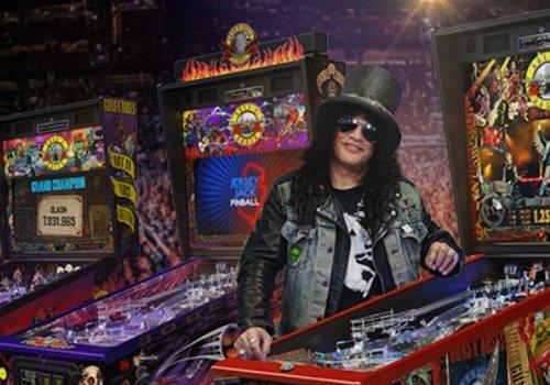 Guns N' Roses Go Pinball Wizard!!