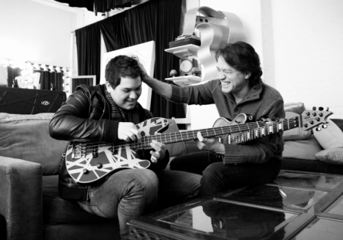 Grab the tissues, AND it's really good! Wolfgang Van Halen pays Tribute to His Dad Eddie With a music video for
