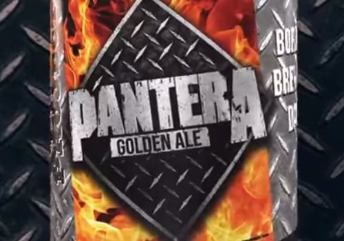 The Spring will bring a whole new kind of Vaccine. The Official 'Pantera Golden Ale'!