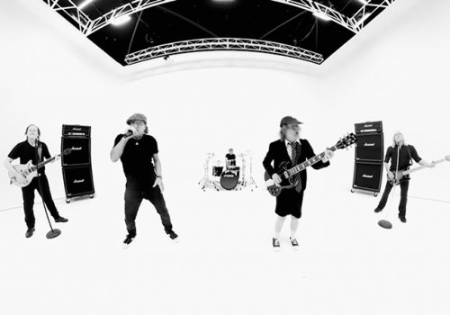 AC/DC got creative for the new video for