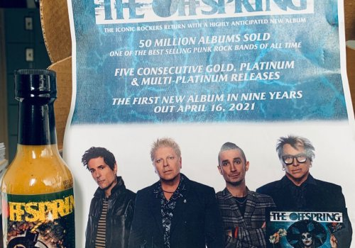 The Offspring finally sharing details and the title track of their 10th studio album... And some legendary hot sauce to match!