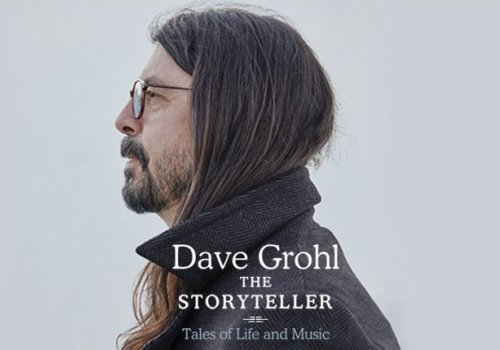 Will you tell me a story Uncle Dave? Foo Fighters frontman and Nirvana drummer Dave Grohl is releasing a book, and man, does he have some stories to tell!!