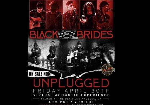 Here's the scoop on the upcoming Black Veil Brides 'Storytellers' formatted Unplugged Livestream Show
